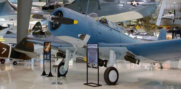 Палубный бомбардировщик Vought Vindicator. SB2U-1