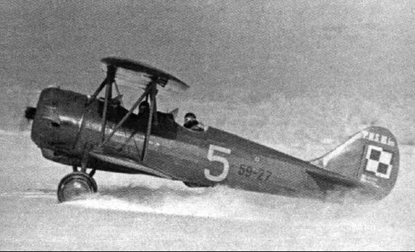 Учебно-тренировочный самолет PWS-16