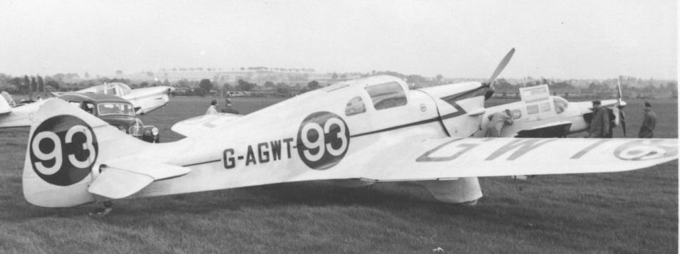 Многоцелевой самолет Miles M-7 Nighthawk