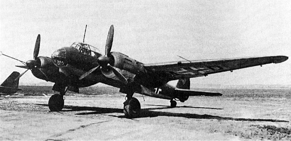 Дальний разведчик Junkers Ju-88 S
