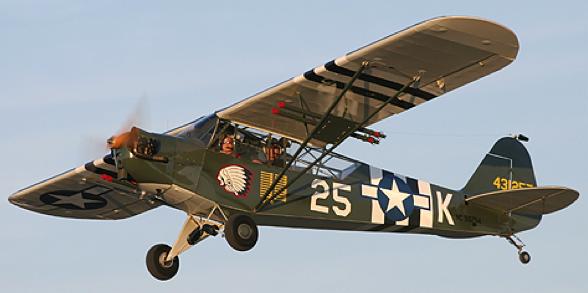 Ближний разведчик-корректировщик Piper L-4 «Grasshopper»