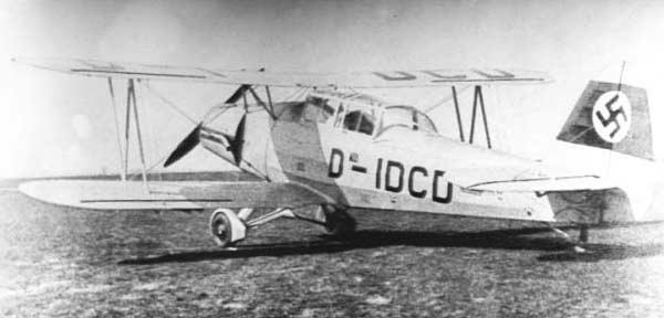 Учебно-тренировочный самолет Gotha Go-145В