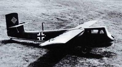 Планер-истребитель Blohm & Voss BV-40