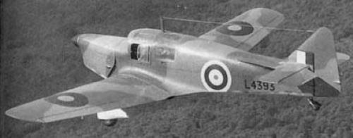 Многоцелевой самолет Miles M-16 Mentor