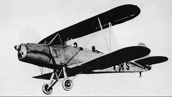Учебно-тренировочный самолет  Gotha -  Go-145А