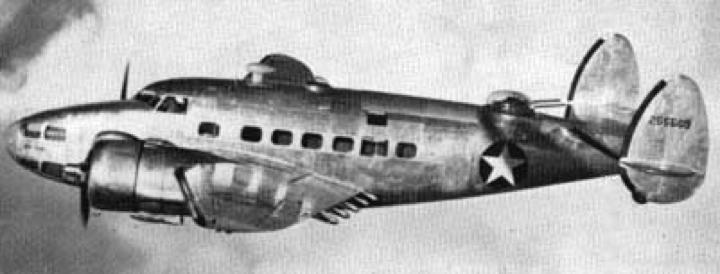 Учебно-тренировочный самолет Lockheed Hudson АТ-18