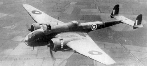 Бомбардировщик Hampden