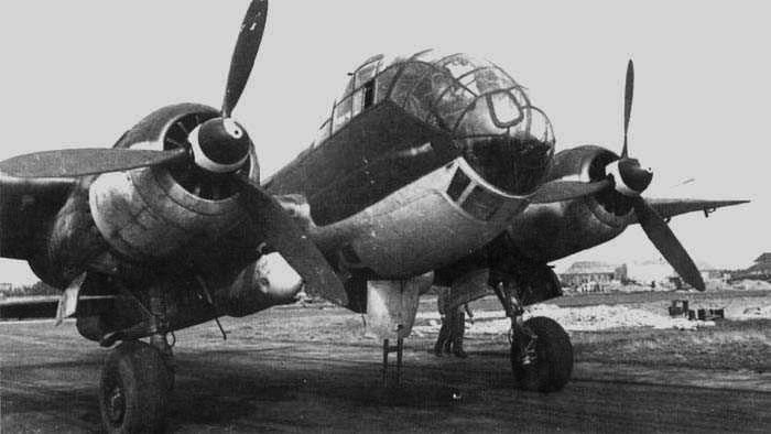 Дальний разведчик Junkers Ju-188