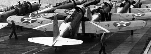Палубный бомбардировщик Vought Vindicator SB2U-2