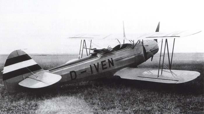 Учебно-тренировочный самолет  Gotha - Go-145С