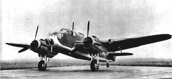 Торпедоносец Bristol Beaufort Mk-I