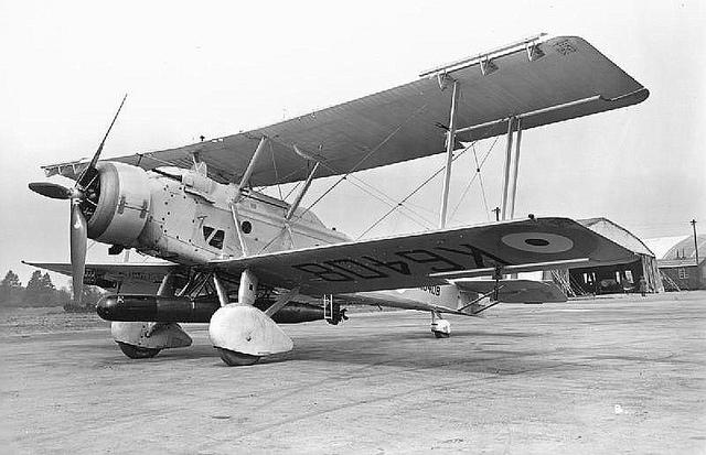 Торпедоносец Vickers Vildebeest IV