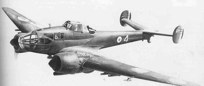 Ближний разведчик Potez Р.637