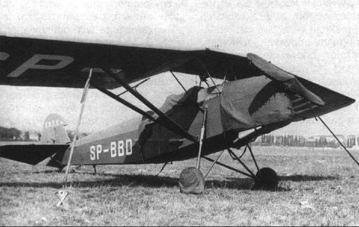 Учебно-тренировочный самолет – RWD 8-PWS