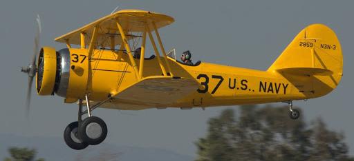 Учебно-тренировочный самолет NAF N-3N Canary