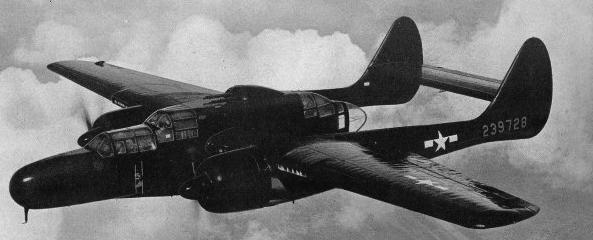 Истребитель Northrop P-61-В