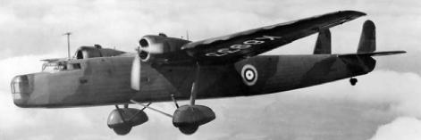 Бомбардировщик Handley Harrow (HP-54)