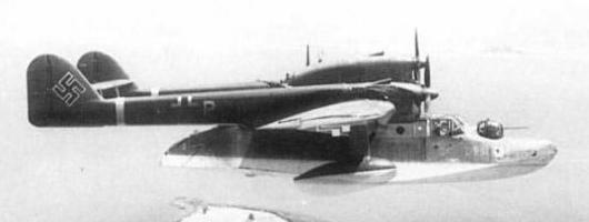 Летающая лодка Blohm & Voss BV-138 Seedrache