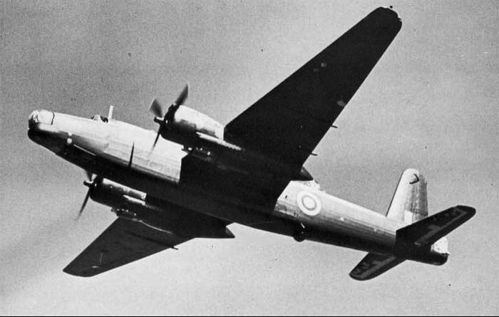 Патрульный самолет Vickers Warwick В.Mk-I