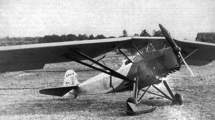 Учебно-тренировочный самолет – RWD 8-DWL