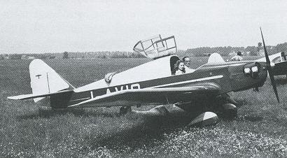 Учебно-тренировочный самолет Azionaria Vercellese FL-3