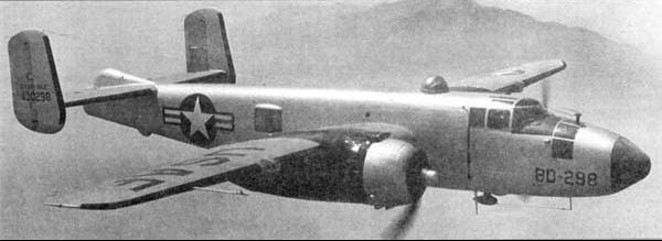 Учебно-тренировочный самолет North American AT-24