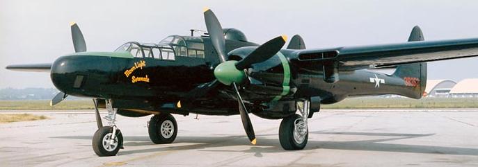 Истребитель Northrop P-61-С
