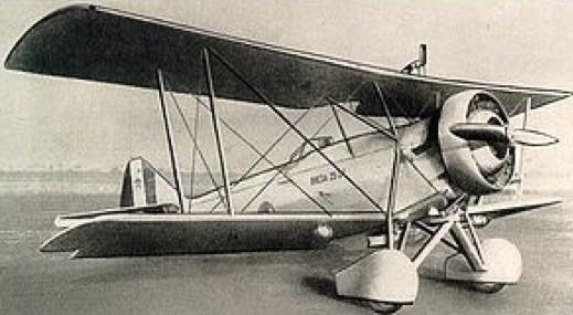 Учебно-тренировочный самолет Breda Ba-25
