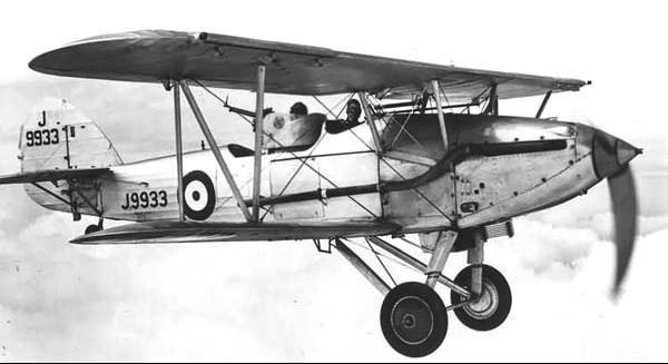 Бомбардировщик Hawker Hart