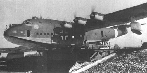 Летающая лодка Blohm & Voss BV-222 Wiking