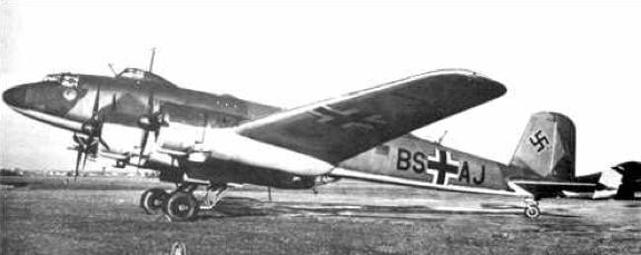 Разведчик-бомбардировщик Focke-Wulf Condor FW-200C-1