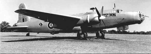 Патрульный самолет Vickers Warwick GR. Mk-V