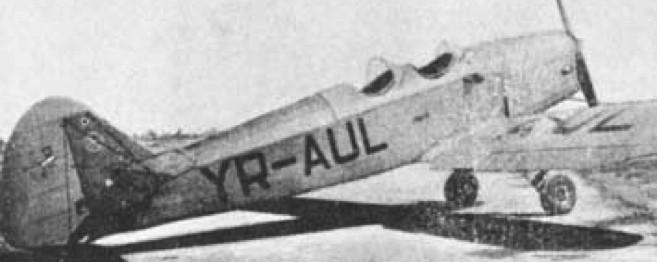 Учебно-тренировочный самолет IAR-27