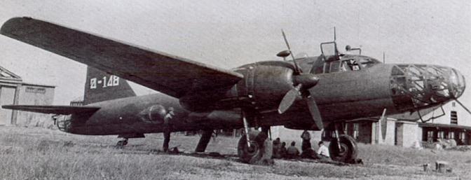 Истребитель Kawasaki Ki-102b