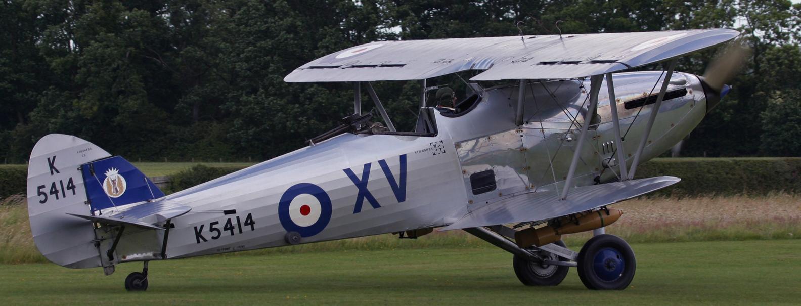 Легкий бомбардировщик Hawker Hind