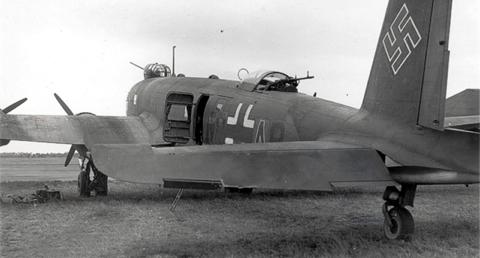 Разведчик-бомбардировщик Focke-Wulf Condor FW-200C-3
