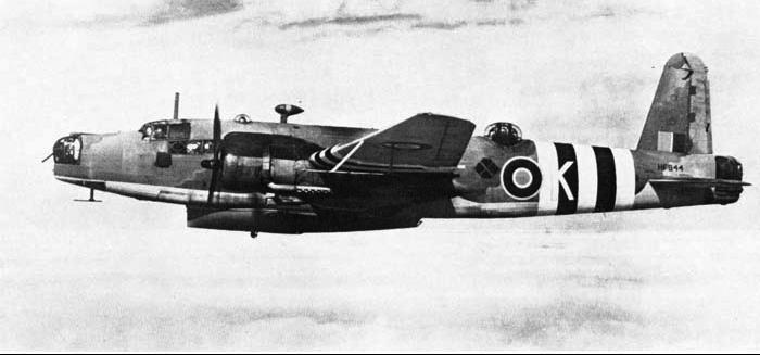 Патрульный самолет Vickers Warwick ASR. Mk -I