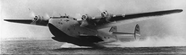 Летающая лодка Boeing 314 Clipper