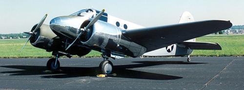 Учебно-тренировочный самолет Beech AT-10 Wichita
