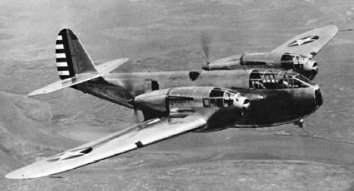 Истребитель Bell YFM-1 Airacuda