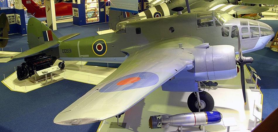 Бомбардировщик Bristol Beaufort