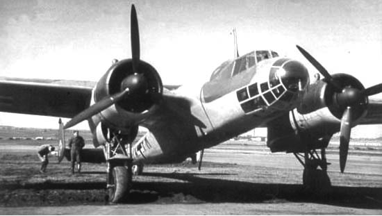 Разведчик Dornier Do-17 P-1