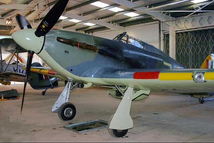 Палубный истребитель Hawker Sea Hurricane - Mk 1В