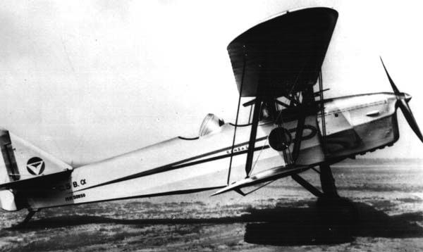 Учебно-тренировочный самолет CANSA – C-5В
