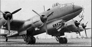 Разведчик-бомбардировщик Focke-Wulf Condor – FW-200C-4