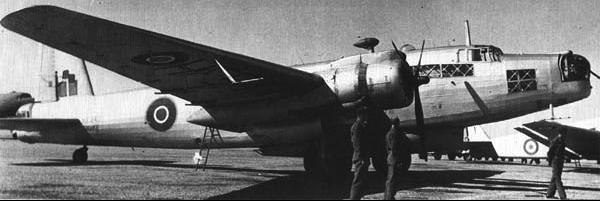 Патрульный самолет Vickers Warwick ASR. Mk-III