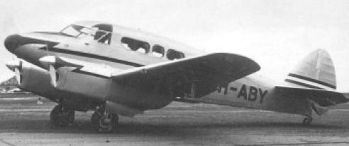 Вспомогательный самолет Persival Q-6 Petrel