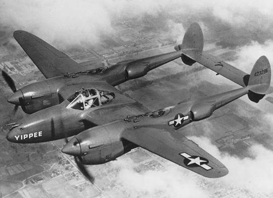 Истребитель Lockheed P-38
