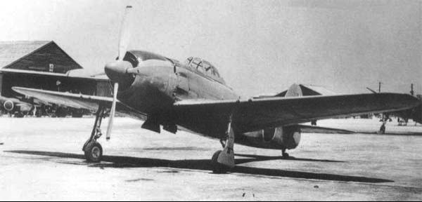 Истребитель Kawanishi N1K2-J Shiden