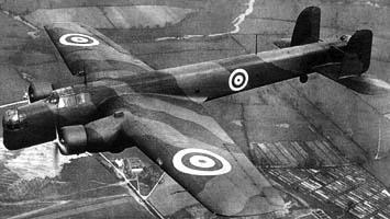 Противолодочный самолет Whitley GR-VII